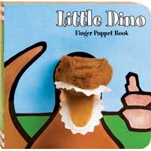 Dinosaurs & Reptiles :Little Dino: Finger Puppet Book