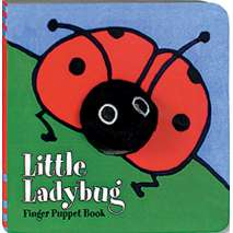 Butterflies, Bugs & Spiders, Little Ladybug: Finger Puppet Book