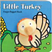 Board Books, Little Turkey: Finger Puppet Book
