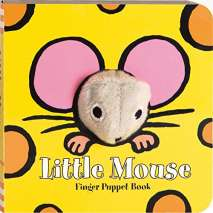 Board Books, Little Mouse: Finger Puppet Book