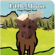 Board Books, Little Moose: Finger Puppet Book