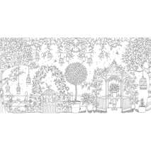Coloring Books :Secret Garden: An Inky Treasure Hunt and Coloring Book