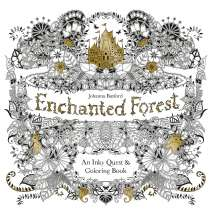 Coloring Books :Enchanted Forest: An Inky Quest & Coloring Book