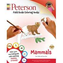 Coloring Books, Peterson Field Guide Coloring Books: Mammals