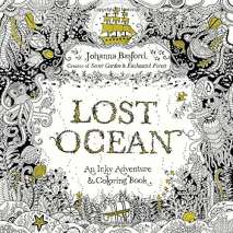 Adult Coloring Books, Lost Ocean: An Inky Adventure and Coloring Book