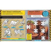 Dinosaur World Sticker and Activity Book