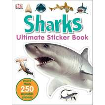 Sharks, Ultimate Sticker Book: Sharks