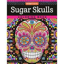 Coloring Books :Sugar Skulls Coloring Book
