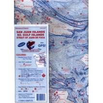 Fishing, Fish-n-Map: San Juan Islands / So. Gulf Islands / Strait of Juan de Fuca
