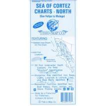 Fishing, Fish-n-Map: Sea of Cortez North, San Felipe to Mulege