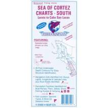 Fishing, Fish-n-Map: Sea of Cortez South, Loreto through Cabo San Lucas