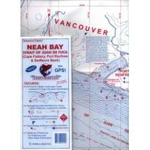 Fishing, Fish-n-Map: Neah Bay / Strait of Juan de Fuca (West) /Port Renfrew,  Including Cape Flattery, Port Renfrew & Swiftsure Ban