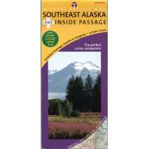 Alaska and British Columbia Travel & Recreation :Southeast Alaska and Inside Passage Recreation Map & Cruise Guide, 4th Edition