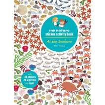 Fish, Sealife, Aquatic Creatures, My Nature Sticker Activity Book: At the Seashore