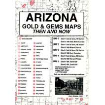 Historical Site and Related Guides, Arizona Gold and Gems Maps: Then and Now
