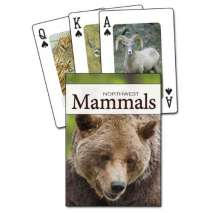 Journals, Cards & Stationary, Mammals of the Northwest Playing Cards