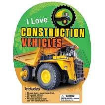 Boats, Trains, Planes, Cars, etc. :I Love Construction Vehicles