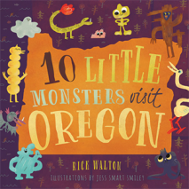 Monsters, Zombies, etc., 10 Little Monsters Visit Oregon