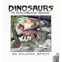 Dinosaurs & Reptiles, Dinosaurs: A Coloring Book
