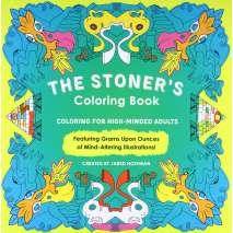 Coloring Books :The Stoner's Coloring Book: Coloring for High-Minded Adults