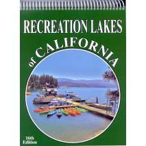 California Travel & Recreation, Recreation Lakes of California 16th Edition
