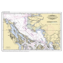 Pacific Northwest :Placemat of Canadian Gulf Islands