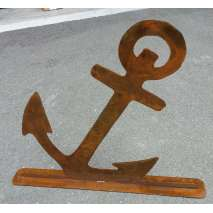 Custom Metal Work :Anchor Custom Display