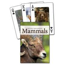 Journals, Cards & Stationary, Mammals of the Rocky Mountains Playing Cards