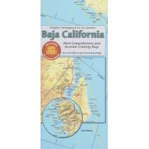 Mexico, Central and South America Travel & Recreation, Baja California Cruising Map