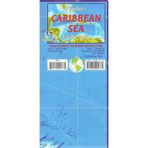 Caribbean Travel Related :Caribbean Sea Guide Map
