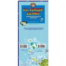 The Caribbean, U.S. Virgin Islands Dive Map & Adventure Guide