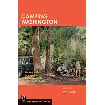 Washington Travel & Recreation Guides :Camping Washington 2ND ED