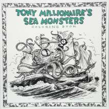 Adult Coloring Books, Tony Millionaire's Sea Monsters Coloring Book