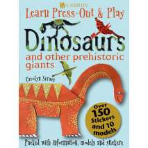 Dinosaurs & Reptiles, Dinosaurs and Other Prehistoric Giants (Learn, Press-Out & Play)