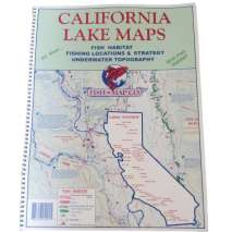 Fishing, Fish-n-Map: CALIFORNIA LAKE MAPS