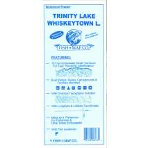 Fishing, Fish-n-Map: Trinity Lake / Whiskeytown Lake