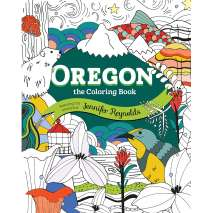 Adult Coloring Books, Oregon the Coloring Book