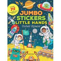 Stickers & Magnets, Jumbo Stickers for Little Hands: Outer Space