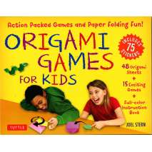 Crafts for Kids, Origami Games for Kids Kit: Action Packed Games and Paper Folding Fun!