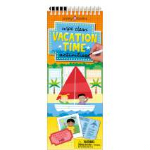 Activity Books, Wipe Clean Activities: Vacation Time