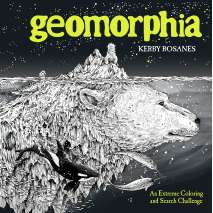 Adult Coloring Books, Geomorphia: An Extreme Coloring and Search Challenge