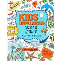 Activity Books: Aquarium, Kids Unplugged: Ocean Quest Activity Book
