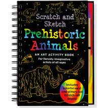 Dinosaurs & Reptiles, Scratch & Sketch: Prehistoric Animals