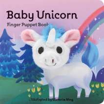 Finger Puppet Books, Baby Unicorn: Finger Puppet Book