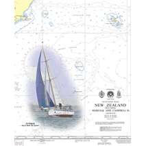 Region 2 - Central, South America :Waterproof NGA Chart 25848: Approaches to Santo Domingo