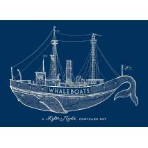 Journals, Cards & Stationary, Whaleboats: A Kyler Martz Postcard Set
