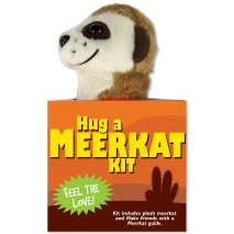 Jungle & Zoo Animals, Hug a Meerkat Kit