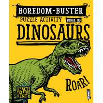 Activity Books: Dinos, Boredom-Buster Puzzle Activity Book of Dinosaurs
