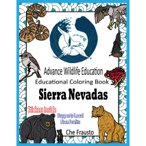 Adult Coloring Books, Sierra Nevadas Educational Coloring Book