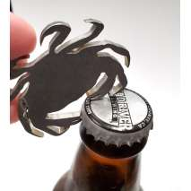 Bottle Openers & Keychains :Dungeness Crab BOTTLE OPENER KEYCHAIN